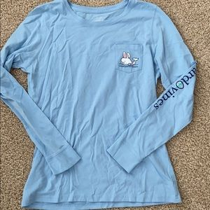 Vineyard vines happy Easter long sleeve tshirt